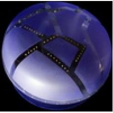 Берет ромб фиолетовый
