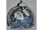 П.С 50 прозрачный перламутр цветы