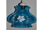 П.С 87 голубой цветы глянец