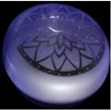 Берет лотос фиолетовый
